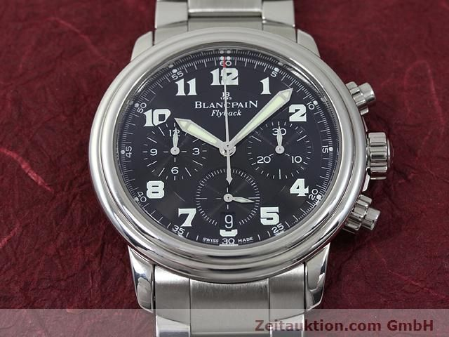 Used luxury watch Blancpain Leman steel automatic Kal. F185  | 140185 15