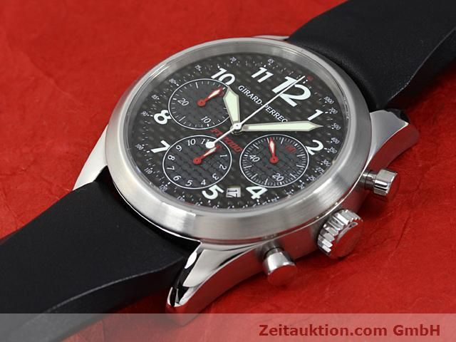 Used luxury watch Girard Perregaux Ferrari steel automatic Kal. 3370 Ref. 4956  | 140186 01