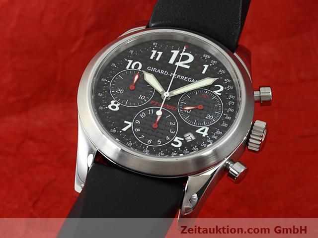 Used luxury watch Girard Perregaux Ferrari steel automatic Kal. 3370 Ref. 4956  | 140186 04