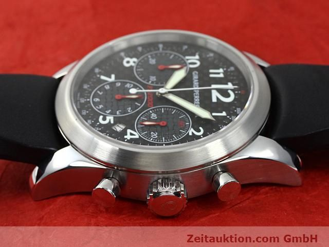 Used luxury watch Girard Perregaux Ferrari steel automatic Kal. 3370 Ref. 4956  | 140186 05
