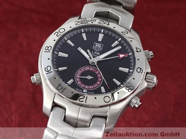 Used luxury watch Tag Heuer Link steel automatic Ref. WJF2115  | 140187 04