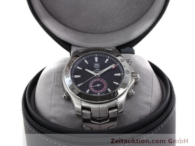Used luxury watch Tag Heuer Link steel automatic Ref. WJF2115  | 140187 07