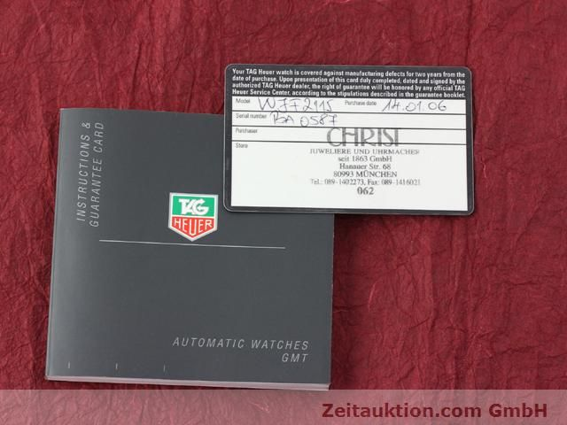 Used luxury watch Tag Heuer Link steel automatic Ref. WJF2115  | 140187 08