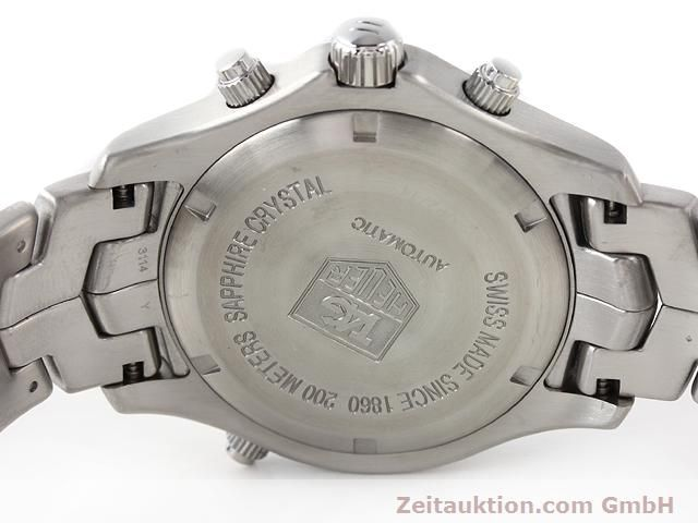 Used luxury watch Tag Heuer Link steel automatic Ref. WJF2115  | 140187 09