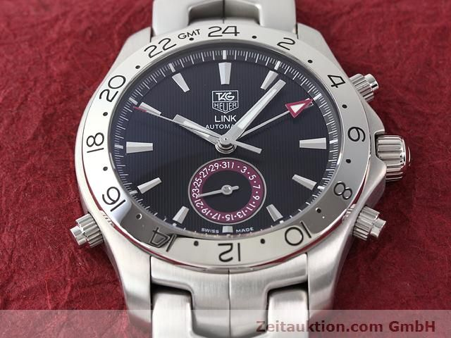 Used luxury watch Tag Heuer Link steel automatic Ref. WJF2115  | 140187 17