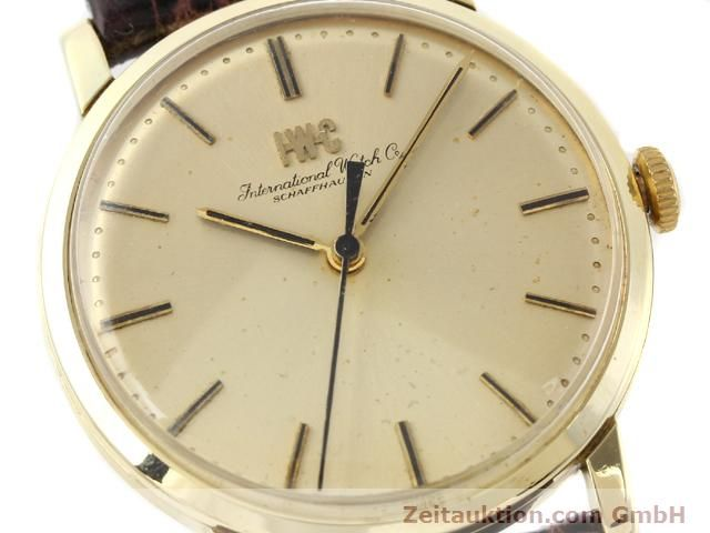 Used luxury watch IWC * 14 ct yellow gold manual winding Kal. 403 Ref. 2400  | 140188 02