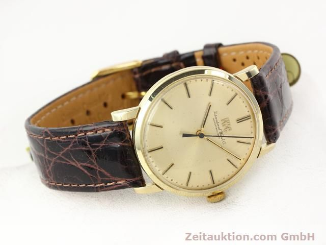 Used luxury watch IWC * 14 ct yellow gold manual winding Kal. 403 Ref. 2400  | 140188 03