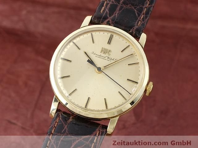 Used luxury watch IWC * 14 ct yellow gold manual winding Kal. 403 Ref. 2400  | 140188 04