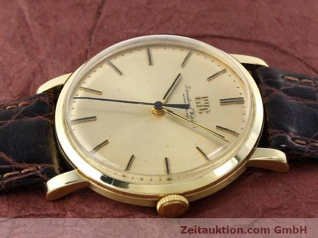 Used luxury watch IWC * 14 ct yellow gold manual winding Kal. 403 Ref. 2400  | 140188 05