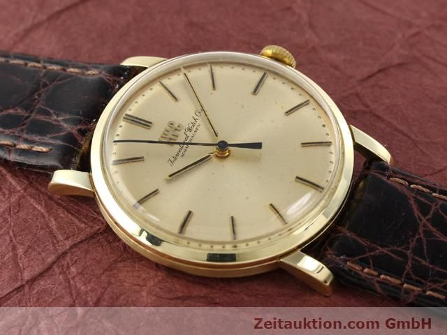 Used luxury watch IWC * 14 ct yellow gold manual winding Kal. 403 Ref. 2400  | 140188 12