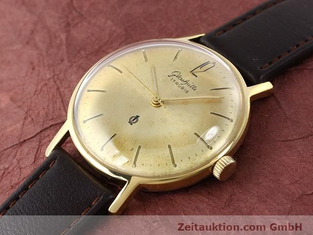 Used luxury watch Glashütte * gold-plated manual winding Kal. 70.3  | 140189 01