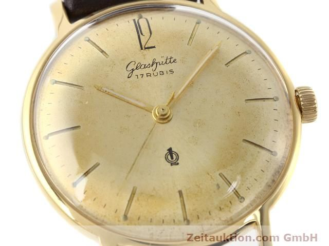 Used luxury watch Glashütte * gold-plated manual winding Kal. 70.3  | 140189 02