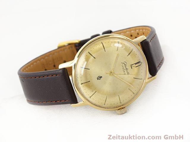 Used luxury watch Glashütte * gold-plated manual winding Kal. 70.3  | 140189 03
