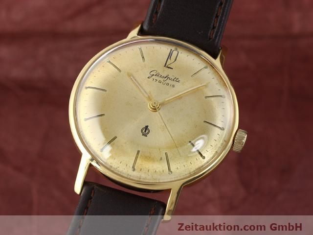Used luxury watch Glashütte * gold-plated manual winding Kal. 70.3  | 140189 04