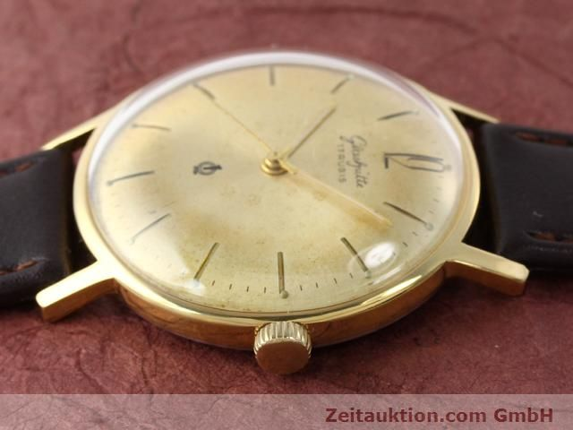 Used luxury watch Glashütte * gold-plated manual winding Kal. 70.3  | 140189 05