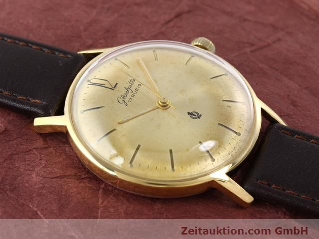 Used luxury watch Glashütte * gold-plated manual winding Kal. 70.3  | 140189 11
