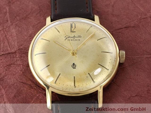 Used luxury watch Glashütte * gold-plated manual winding Kal. 70.3  | 140189 12