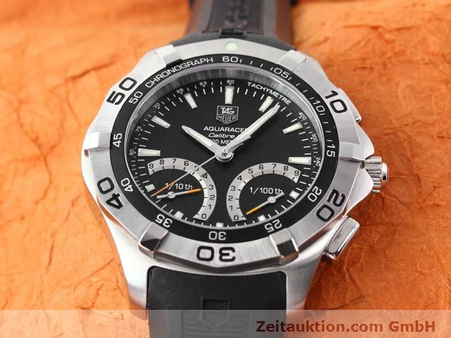 Used luxury watch Tag Heuer Aquaracer steel quartz Kal. S Ref. CAF7010  | 140190 14