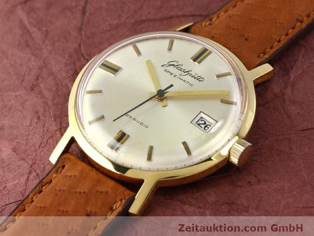 Used luxury watch Glashütte Spezimatic gold-plated automatic Kal. 75  | 140194 01