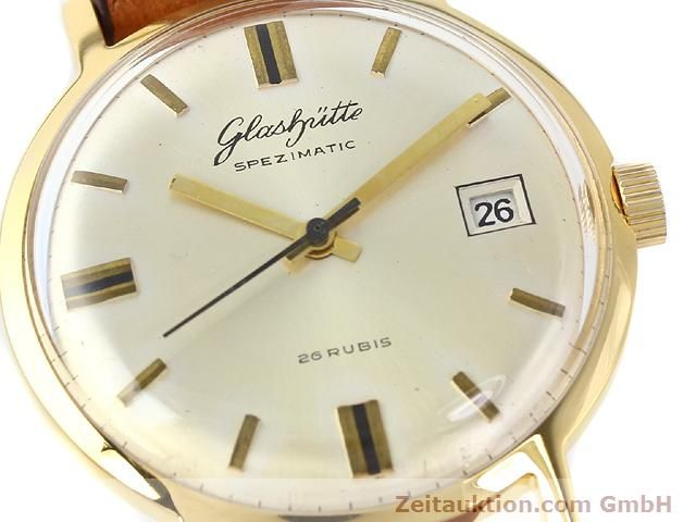 Used luxury watch Glashütte Spezimatic gold-plated automatic Kal. 75  | 140194 02