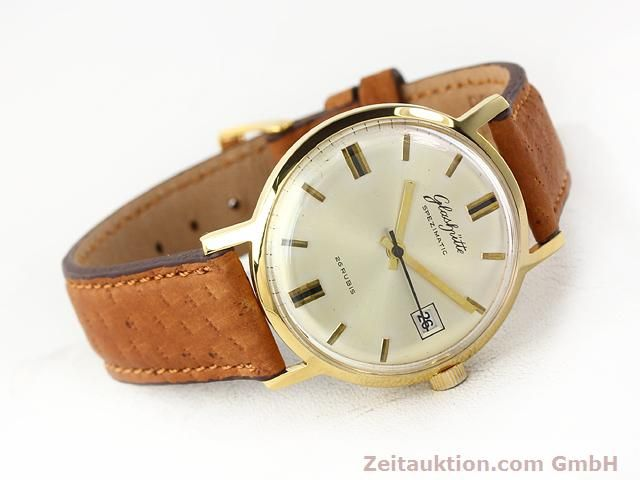 Used luxury watch Glashütte Spezimatic gold-plated automatic Kal. 75  | 140194 03