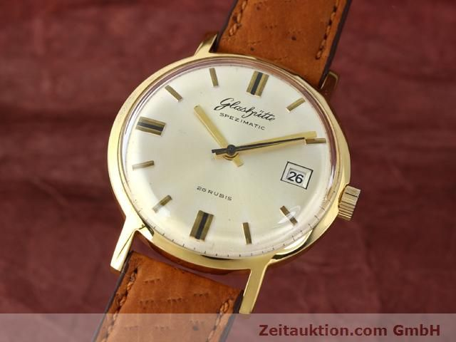 Used luxury watch Glashütte Spezimatic gold-plated automatic Kal. 75  | 140194 04