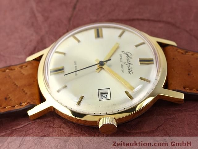 Used luxury watch Glashütte Spezimatic gold-plated automatic Kal. 75  | 140194 05