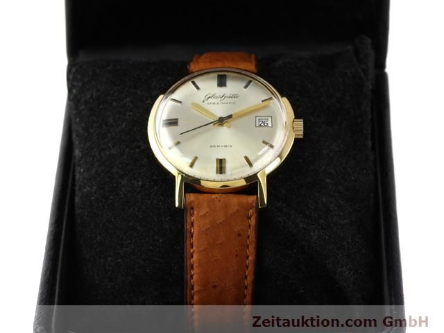 Used luxury watch Glashütte Spezimatic gold-plated automatic Kal. 75  | 140194 07