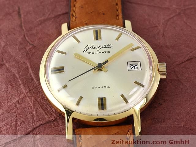Used luxury watch Glashütte Spezimatic gold-plated automatic Kal. 75  | 140194 12
