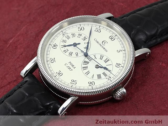 Used luxury watch Chronoswiss Tora steel automatic Kal. C.123 Ref. CH1323  | 140197 01