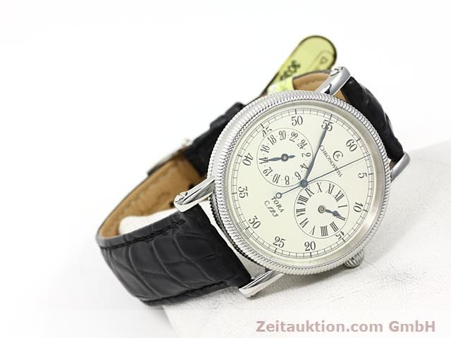 Used luxury watch Chronoswiss Tora steel automatic Kal. C.123 Ref. CH1323  | 140197 03
