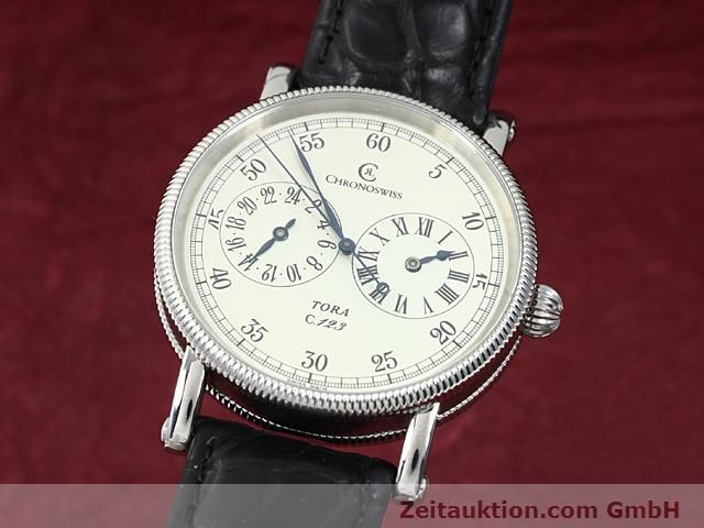Used luxury watch Chronoswiss Tora steel automatic Kal. C.123 Ref. CH1323  | 140197 04