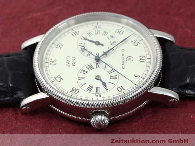 Used luxury watch Chronoswiss Tora steel automatic Kal. C.123 Ref. CH1323  | 140197 05