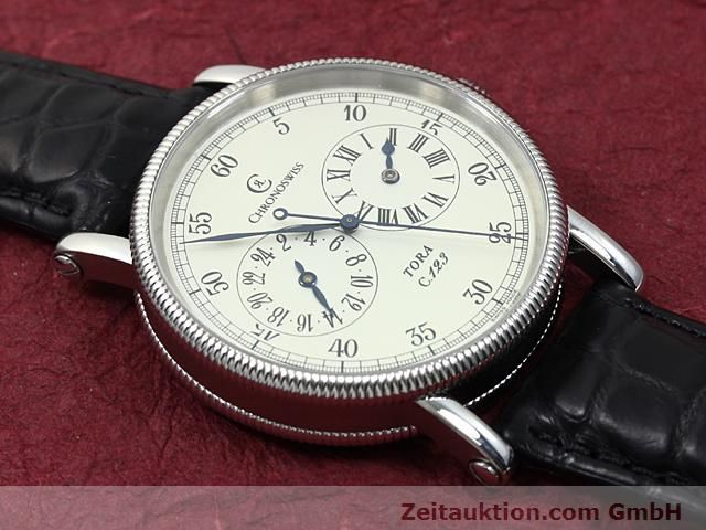 Used luxury watch Chronoswiss Tora steel automatic Kal. C.123 Ref. CH1323  | 140197 13