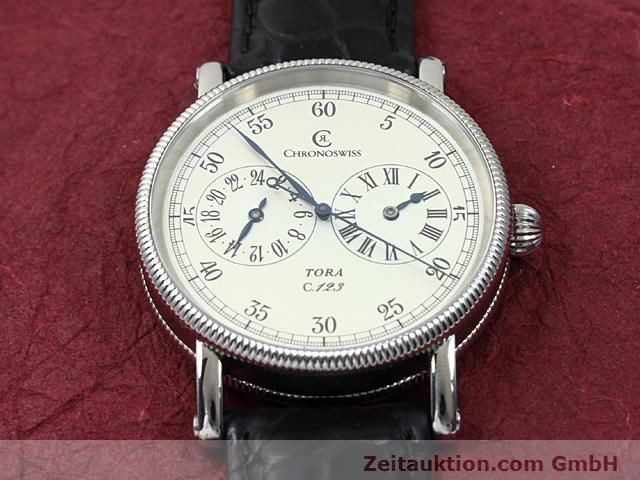 Used luxury watch Chronoswiss Tora steel automatic Kal. C.123 Ref. CH1323  | 140197 14