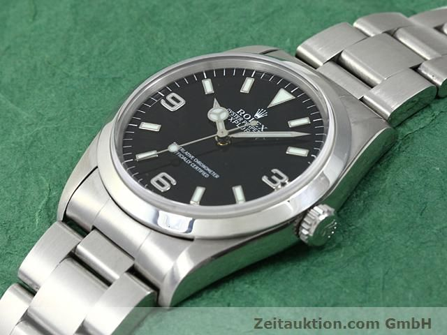 Used luxury watch Rolex Explorer steel automatic Kal. 3000 Ref. 14270  | 140198 01