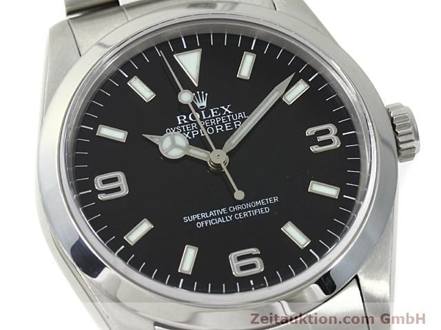 Used luxury watch Rolex Explorer steel automatic Kal. 3000 Ref. 14270  | 140198 02