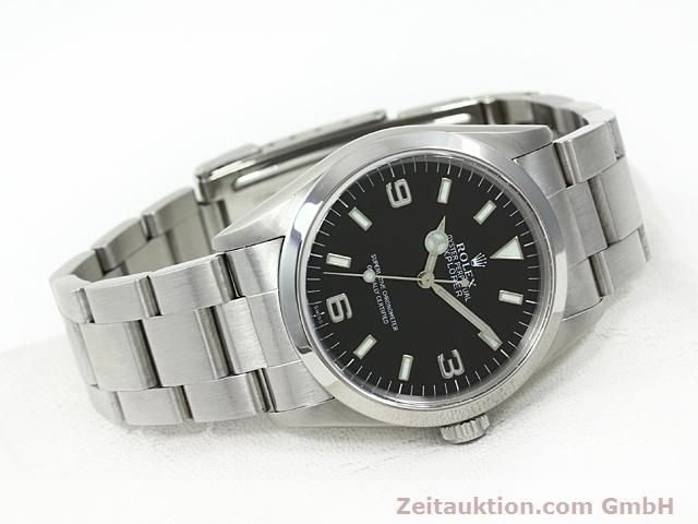 Used luxury watch Rolex Explorer steel automatic Kal. 3000 Ref. 14270  | 140198 03