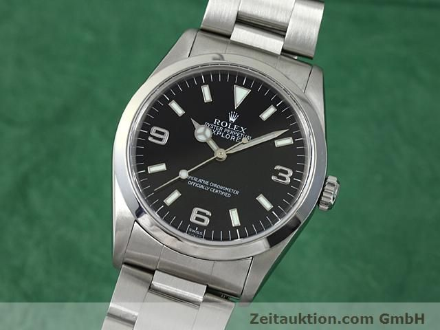 Used luxury watch Rolex Explorer steel automatic Kal. 3000 Ref. 14270  | 140198 04