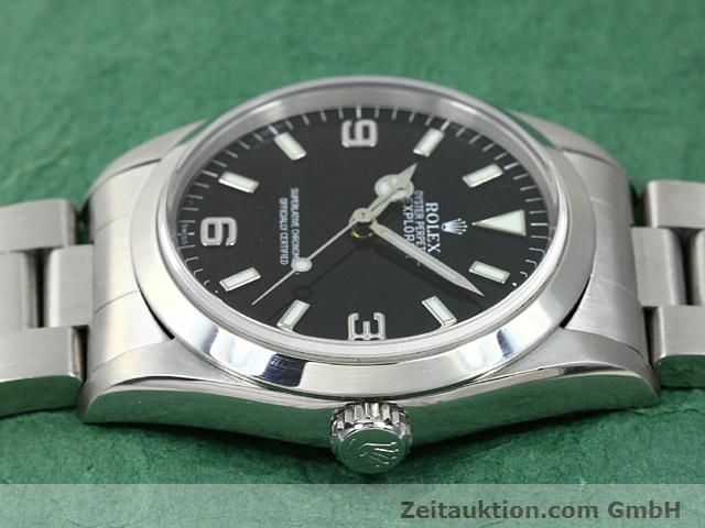 Used luxury watch Rolex Explorer steel automatic Kal. 3000 Ref. 14270  | 140198 05