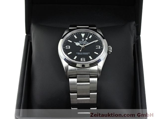 Used luxury watch Rolex Explorer steel automatic Kal. 3000 Ref. 14270  | 140198 07