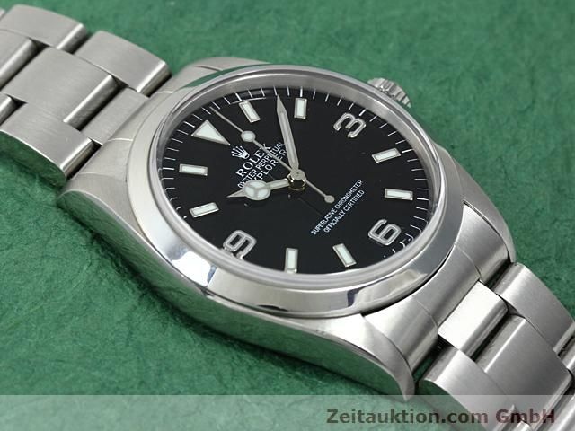Used luxury watch Rolex Explorer steel automatic Kal. 3000 Ref. 14270  | 140198 15