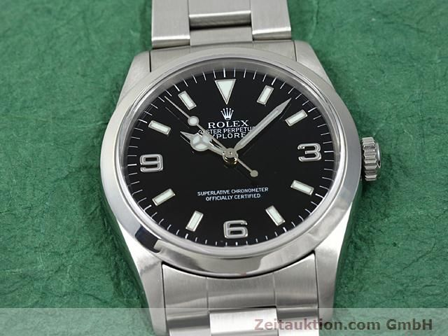 Used luxury watch Rolex Explorer steel automatic Kal. 3000 Ref. 14270  | 140198 16