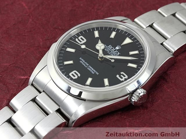 Used luxury watch Rolex Explorer steel automatic Kal. 3000 Ref. 14270  | 140199 01