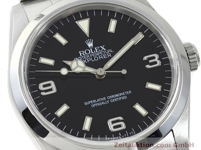Used luxury watch Rolex Explorer steel automatic Kal. 3000 Ref. 14270  | 140199 02