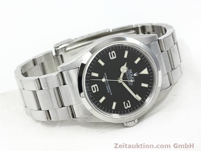 Used luxury watch Rolex Explorer steel automatic Kal. 3000 Ref. 14270  | 140199 03