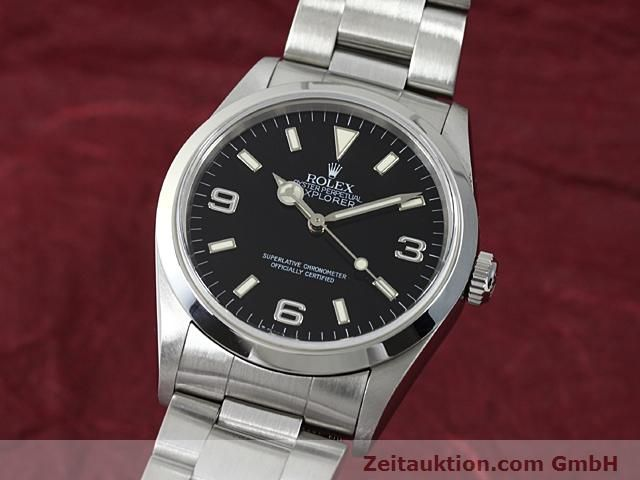 Used luxury watch Rolex Explorer steel automatic Kal. 3000 Ref. 14270  | 140199 04