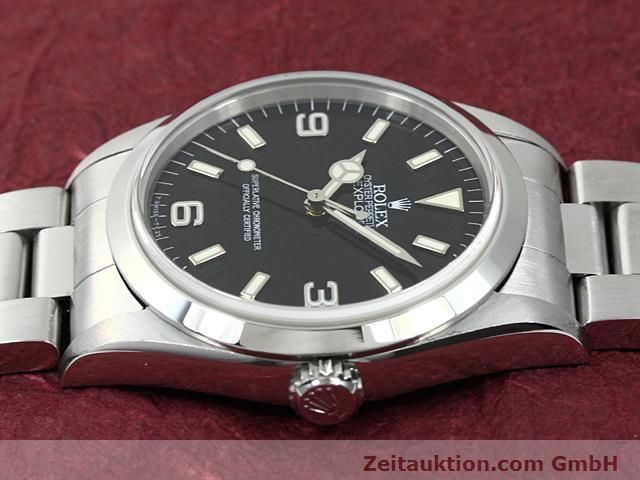 Used luxury watch Rolex Explorer steel automatic Kal. 3000 Ref. 14270  | 140199 05