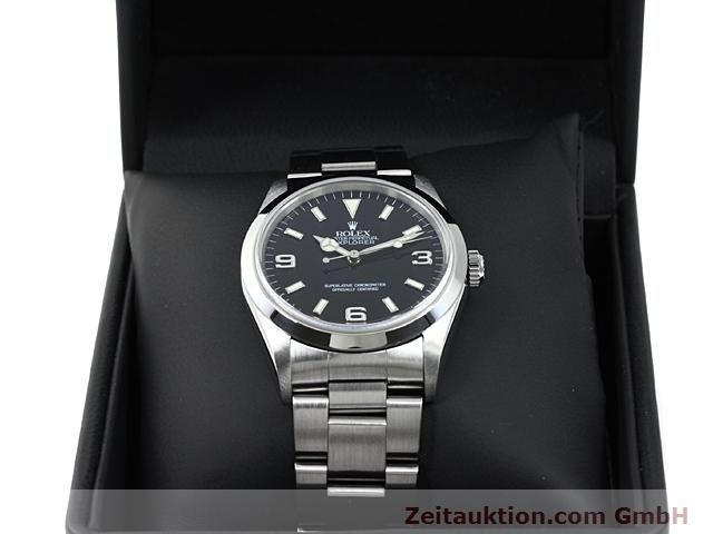 Used luxury watch Rolex Explorer steel automatic Kal. 3000 Ref. 14270  | 140199 07