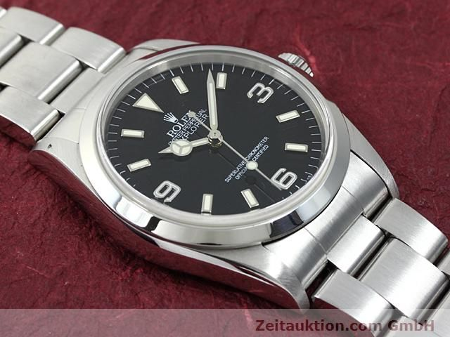 Used luxury watch Rolex Explorer steel automatic Kal. 3000 Ref. 14270  | 140199 14
